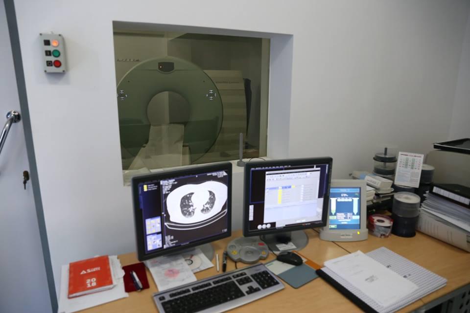 Computerul Tomograf de la Spitalul Județean Călărași este funcțional