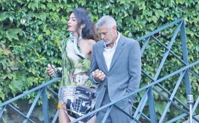 George Clooney s-a apucat din nou de alcool