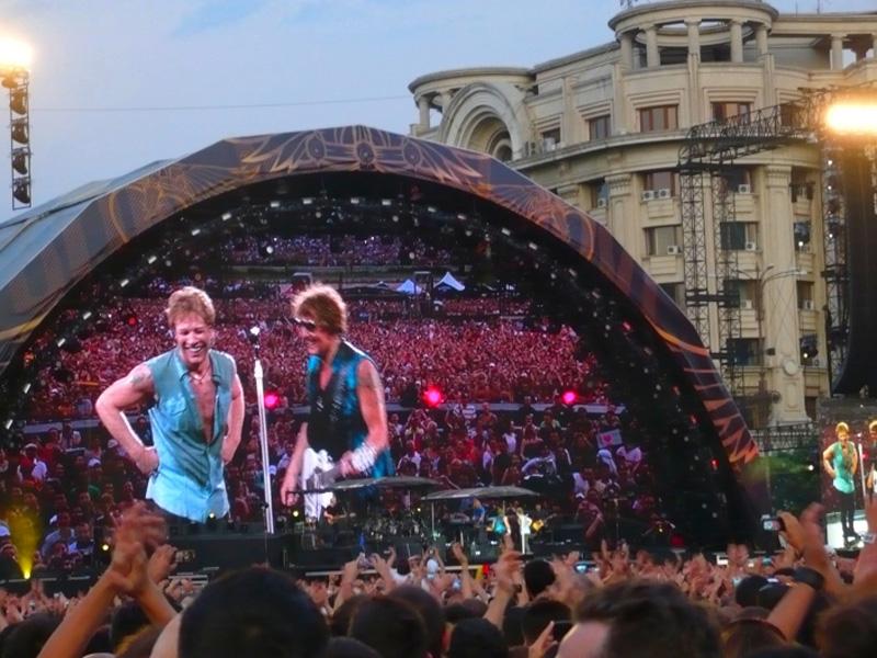 Bon Jovi revine la Bucureşti, pe 21 iulie 2019