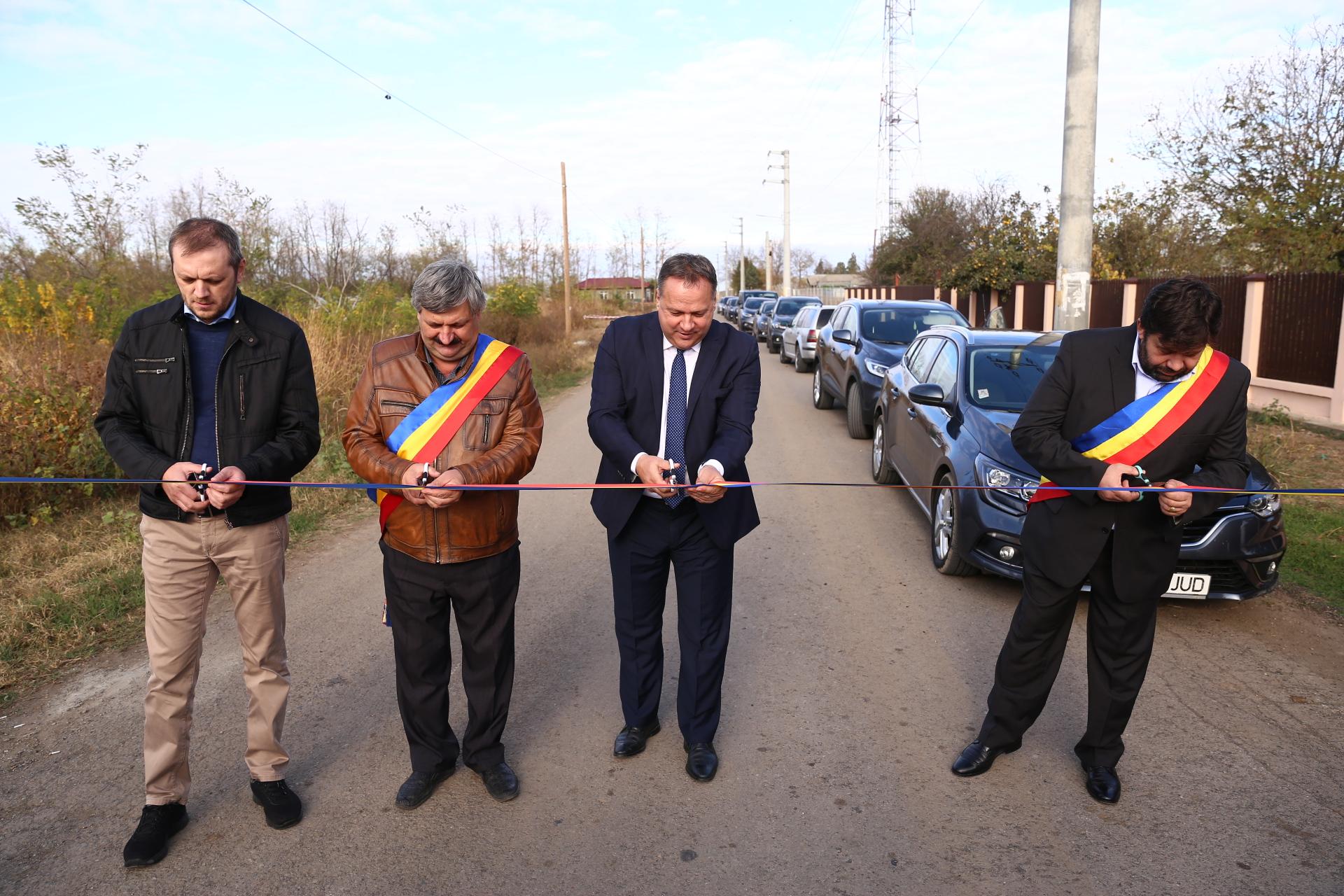 DJ 307 A care leagă localitățile Vâlcelele și Vlad Țepeș a fost asfaltat cu 4,674 milioane de lei