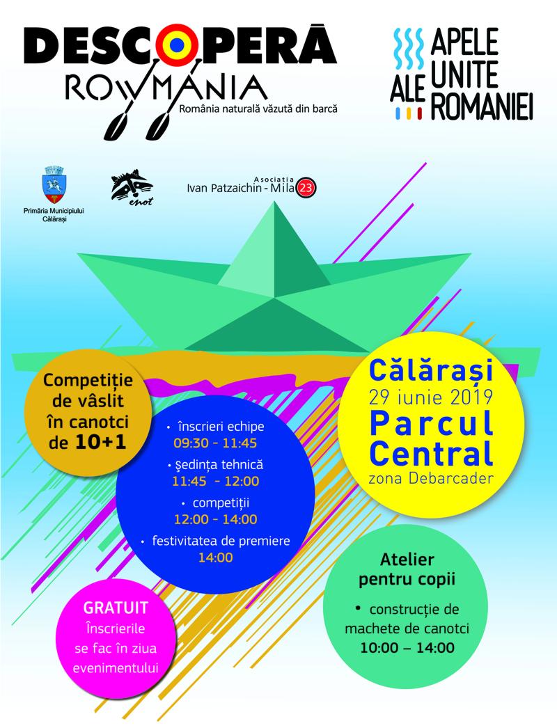 Ziua Dunării Călărași 2019/ Vezi programul