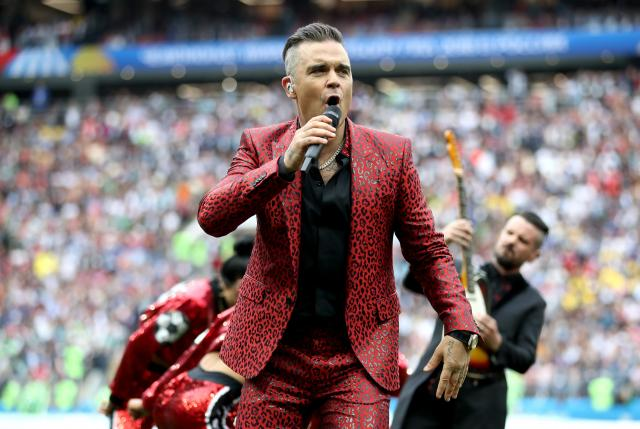 Robbie Williams vine la UNTOLD