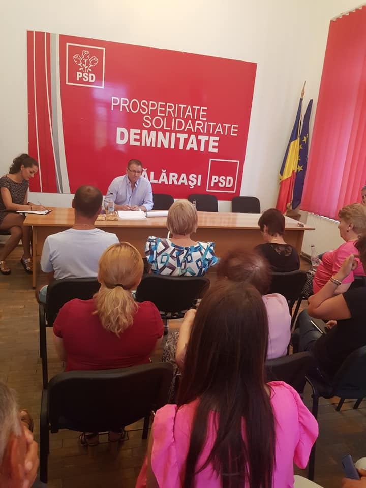PSD Călărași: Analiză cu obiectivitate a alegerilor europarlamentare