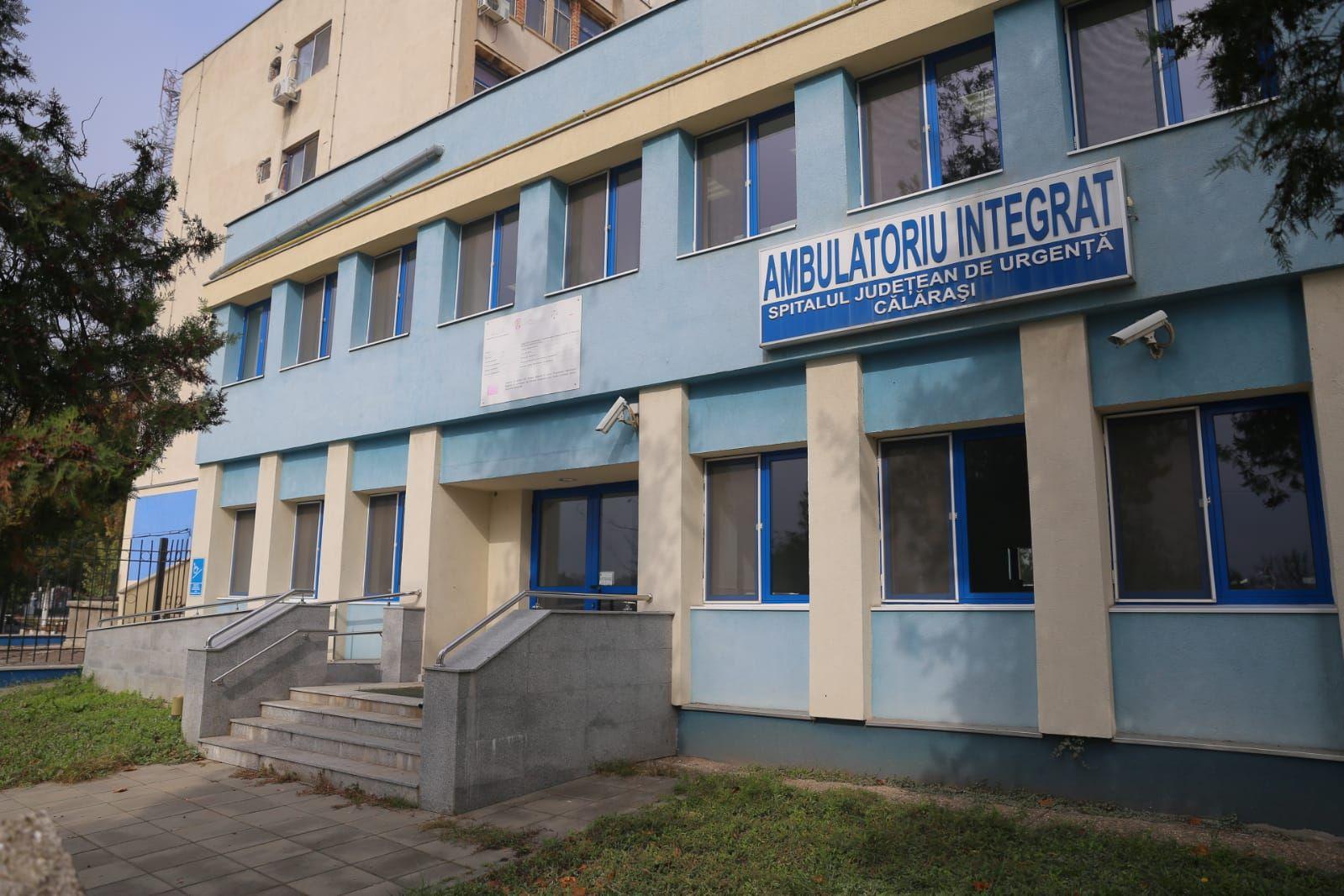 Se dotează Ambulatoriul Spitalului Județean Călărași!