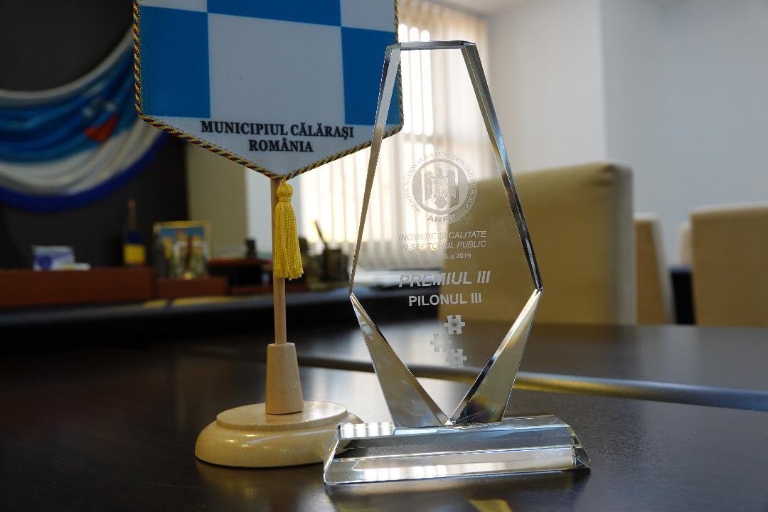 Primăria Municipiului Călărași premiată la Conferința internațională Inovație și calitate în sectorul public editia a XII-a – 2019