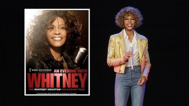 Turneul sub formă de hologramă al lui Whitney Houston începe la 25 februarie în Europa