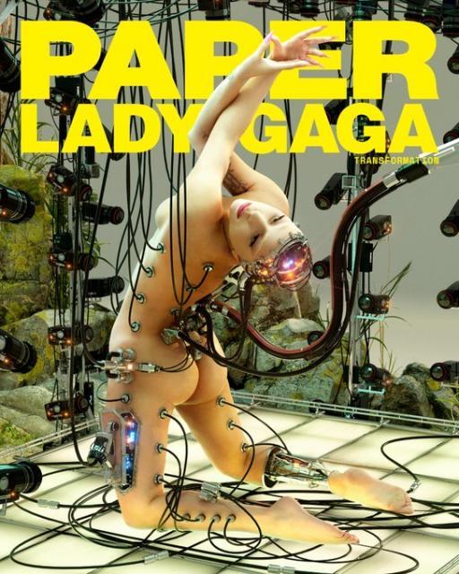 Lady Gaga a pozat dezbrăcată, apoi a intrat la izolare